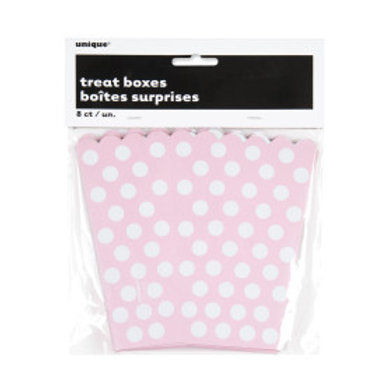 LOVELY PINK DOTS TREAT BOXES