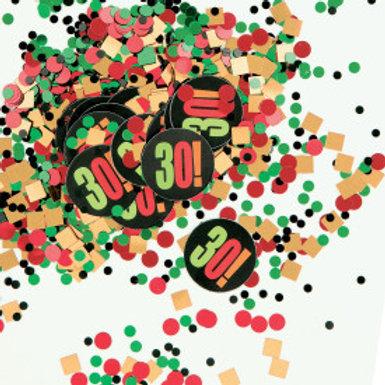 Birthday Cheer Print & Foil Confetti 30