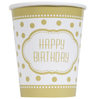Golden Birthday 9oz Cup