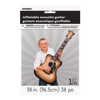 """38"""" INFLATABLE ACOUSTIC GUITAR"""