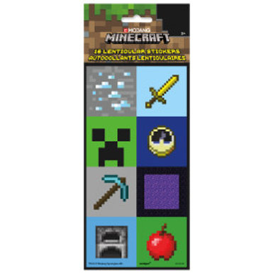 Minecraft Lenticular Stickers
