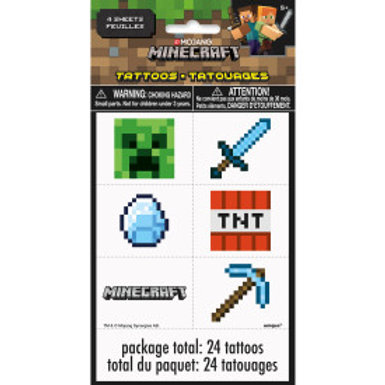 Minecraft Tattoos