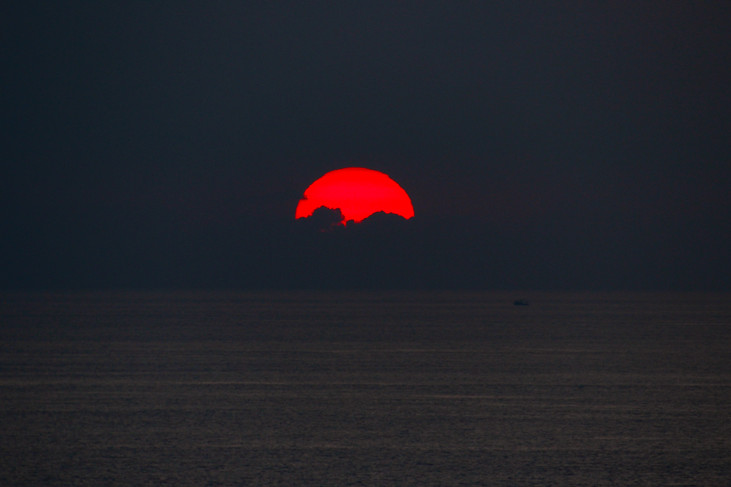 """""""Red Sunset"""" Acapulco, Mexico. 2017"""
