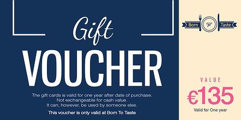 €135 Gift Card