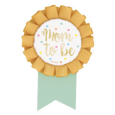 Oh Babay Mom To Be Shower Badge