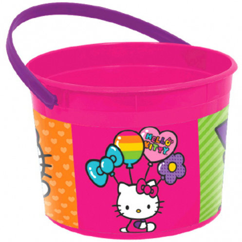 Hello Kitty Rainbow Favor Container