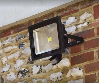 Flood Light Installation