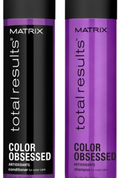 Matrix Total Results Color Obsessed Shampoo (300ml), Conditioner (300ml)
