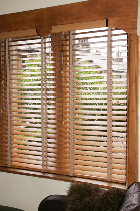 Wooden venetian blinds north london