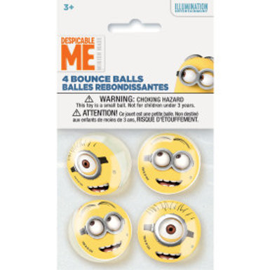 Despicable Me Bounce Balls