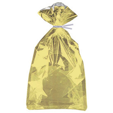 GOLD FOIL CELLO BAG 5X11