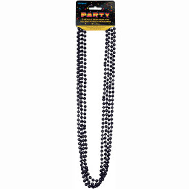 Bead Necklace-Blk