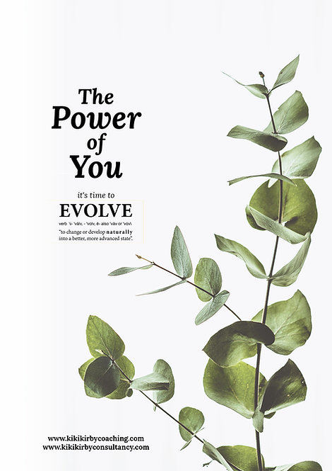 The Power of You Booklet