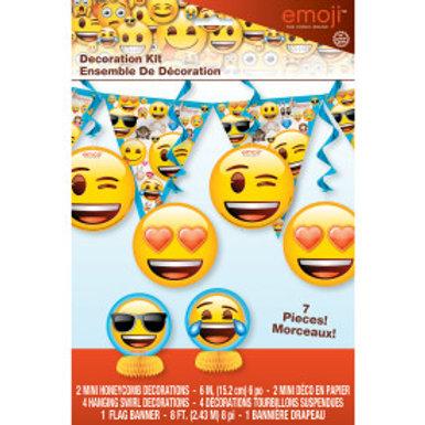 Emoji Decor Kit-7Pc