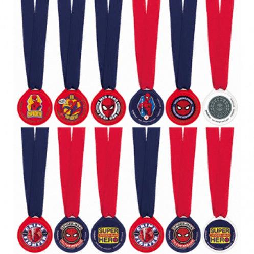 Spider-Man Webbed Award Medals
