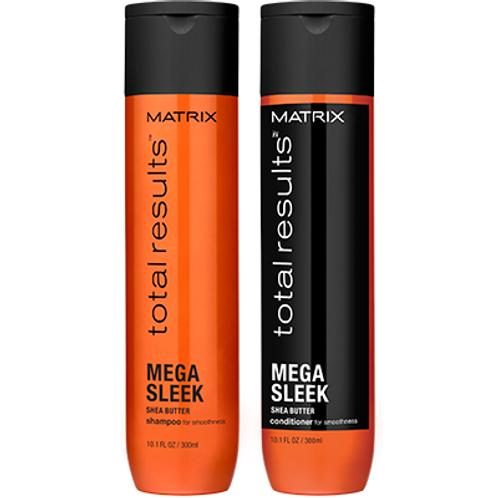 Matrix NEW Total Results Mega Sleek Shampoo and Conditioner 300ml