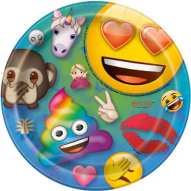 Emoji Dessert Plate