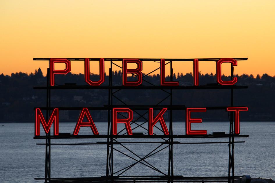 """Public Market"" San Francisco. 2018"