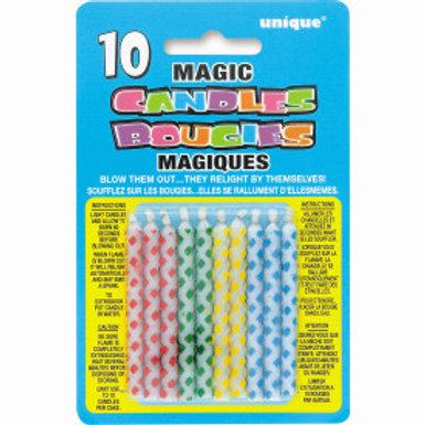 Diamnd Dot Magic Birthday Candle
