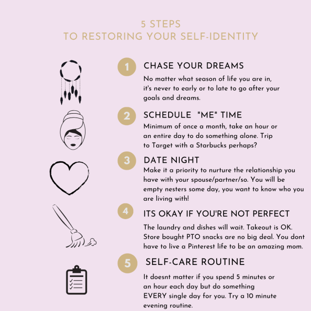 Self-Identity Restoration Tips