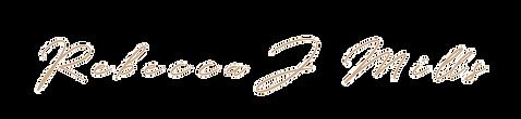 Rebecca J Mills Designs Logo