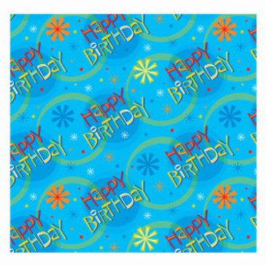 Stellar Birthday Gift Wrap