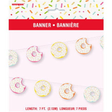 Donut Party Cut Out Banner