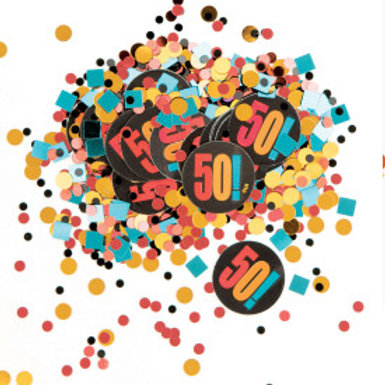Birthday Cheer Print & Foil Confetti 50