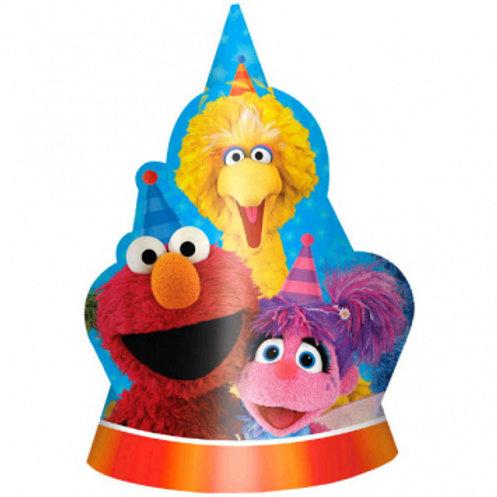 Sesame Street® Die-Cut Paper Hats