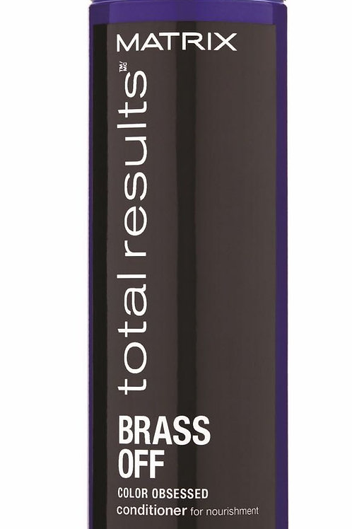 Matrix Total Results Brass Off Color Obsessed Conditioner (300 ml)