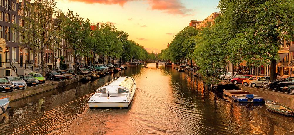 Boat Cruise In Amsterdam