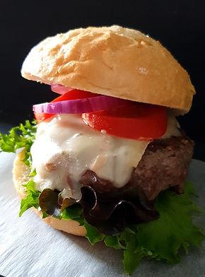 Decadent Wagyu Beef Burger with Truffle Mayo