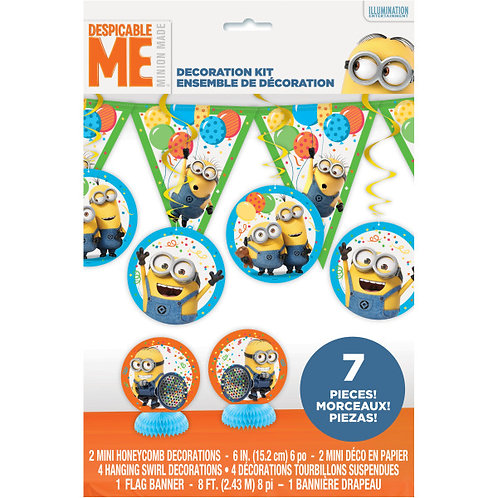Despicable Me Decor Kit-7Pc