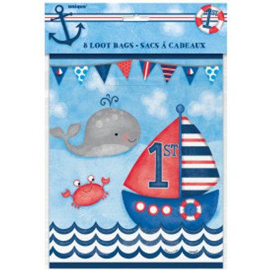 Nautical 1st Birthday Lootbag