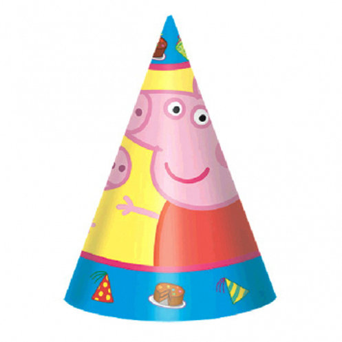 Peppa Pig™ Paper Cone Hats