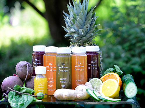 5 Day Juice Packages