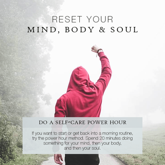 Reset your mind, body & soul challenge, Day 2