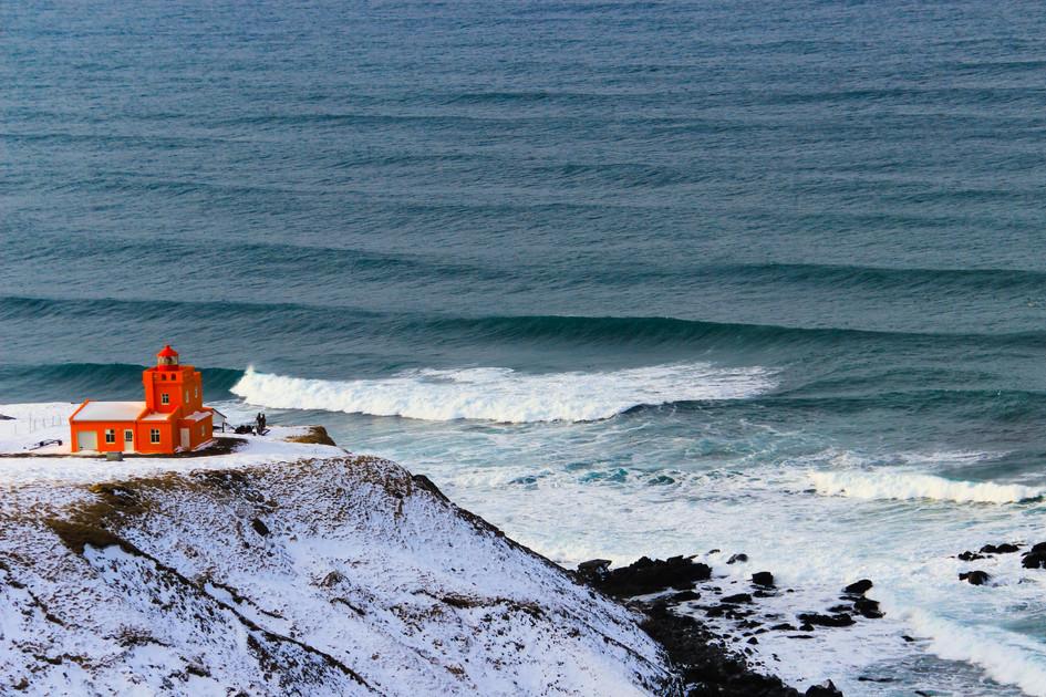 """""""The Orange House"""" Iceland. 2018"""