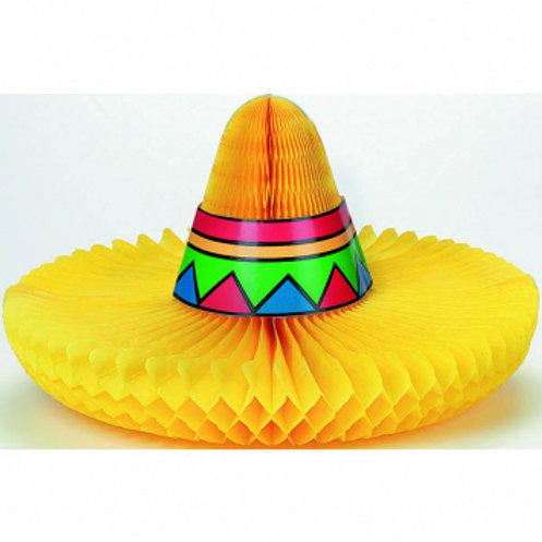 Fiesta Sombrero Honeycomb Centerpiece