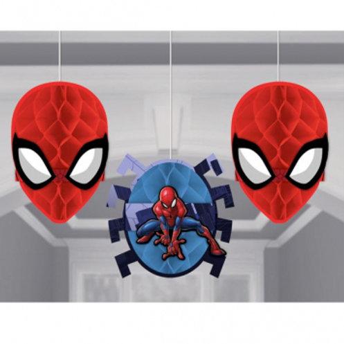Spider-Man™ Webbed Wonder Honeycomb Decorations