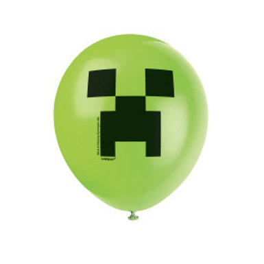 Minecraft 8ct Ltx Balloons