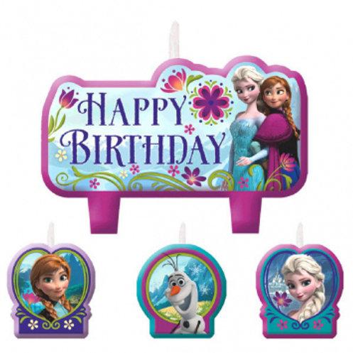Frozen Birthday Candle Set