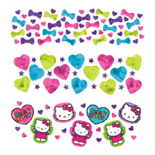 Hello Kitty Rainbow Value Confetti