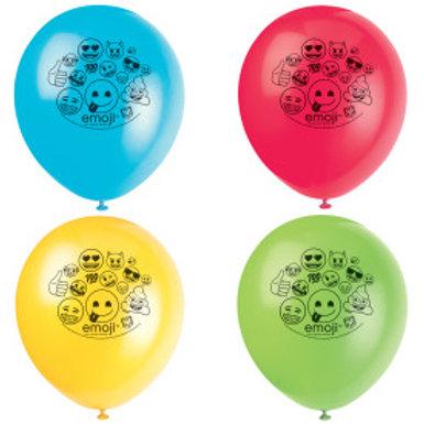 "Emoji 12"" Balloons 2S"