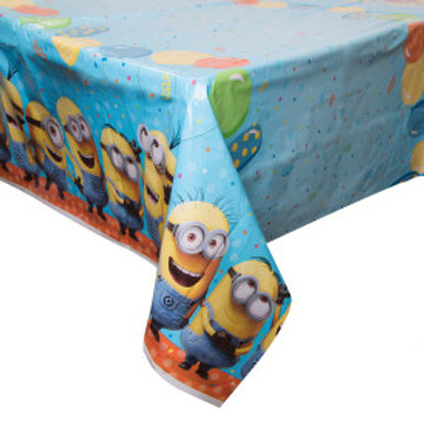 Despicable Me Plastic Tablecover