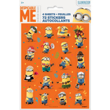 Despicable Me Sticker Sheets