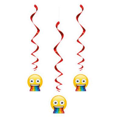 "Emoji Hanging Swirl- 26"""