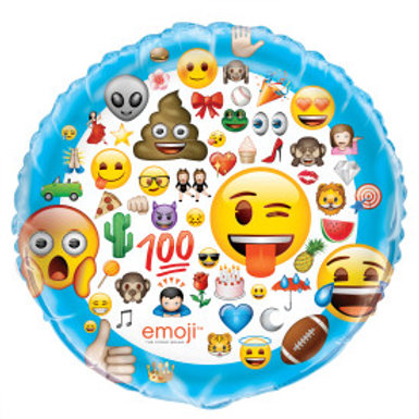 Emoji Giant Foil Balloon - 34""