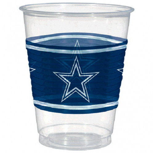 Dallas Cowboys Plastic Cups