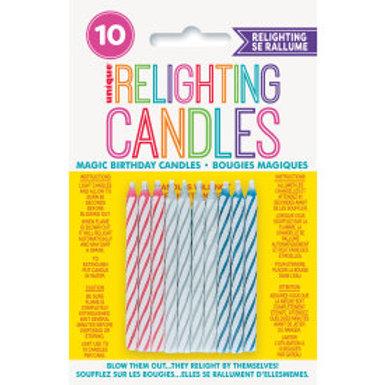 Magic Birthday Multicolor Candle